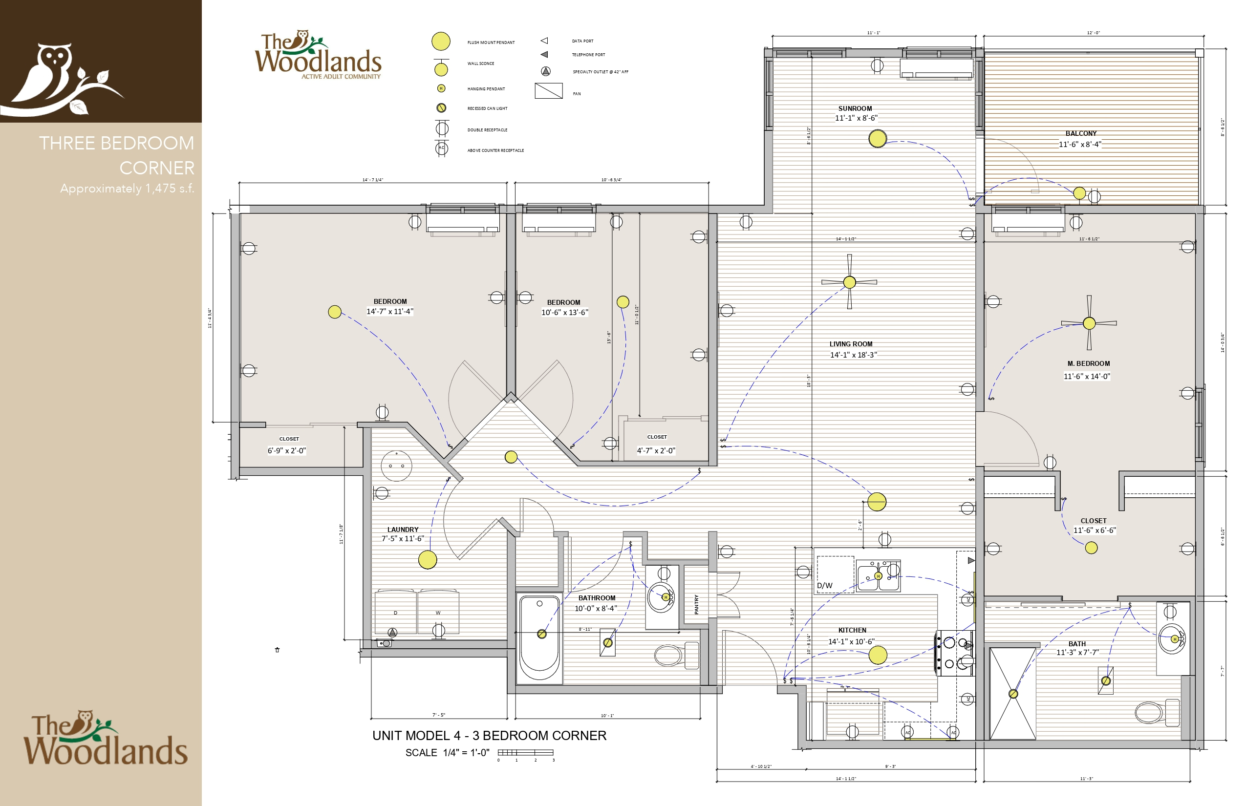 The Woodlands - 3 Bedroom Corner